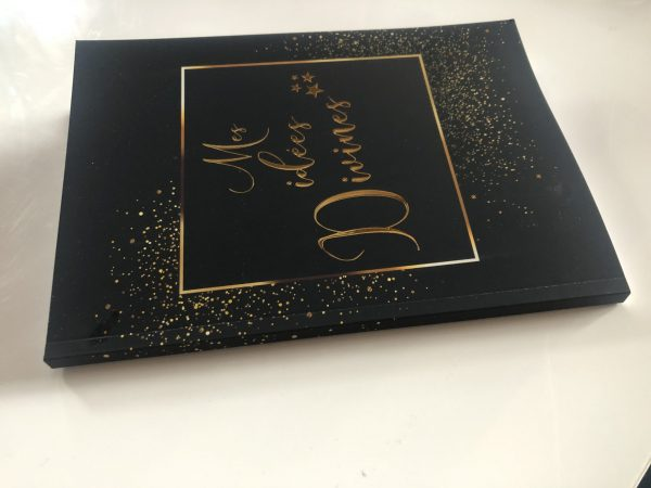 Carnet Mes idées Divines journaling, carnet à idées